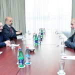 The NKR Minister of Foreign Affairs Met the EU Special Representative