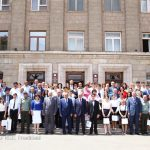 """""""Educated generation is among the guarantees of our state's reliable future"""". Bako Sahakyan"""