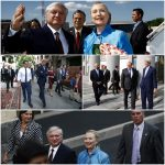 Recalling Hillary Clinton. When the US Secretary of State was visiting Armenia too