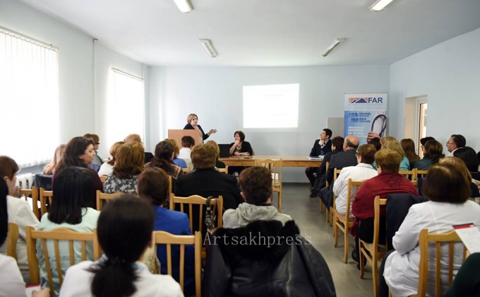 Doctors from Yerevan present new approaches to children's intensive therapy in Artsakh