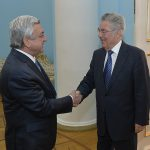 President Sargsyan received the former president of Austria
