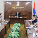 Committee for marking 26th anniversary of Artsakh convenes its first sitting