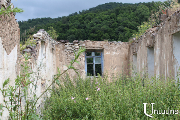Village of ruined houses: formerly Azerbaijani populated Kalavan became known to the world due to Armenians