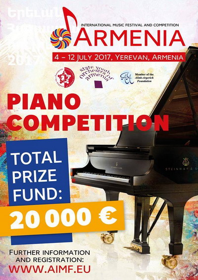"""First """"Armenia"""" International Festival and Competition to discover bright talents"""
