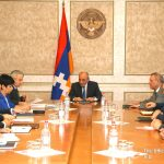 Bako Sahakyan convoked working consultation on organization of solemn events dedicated to 26th anniversary of Artsakh Republic