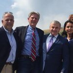 Armenian Assembly Co-Chair accompanies representatives Frank Pallone, Jr. and Tulsi Gabbard to Artsakh