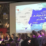 German-Armenian community map causes fuss in Turkish media