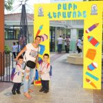 Students of Mesrobian Kindergarten started their school year