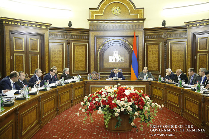 Government discusses preparations for 3 major events to be held in Armenia in 2018