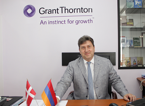 Gagik Gyulbudaghyan re-elected to the Board of Governors of Grant Thornton International