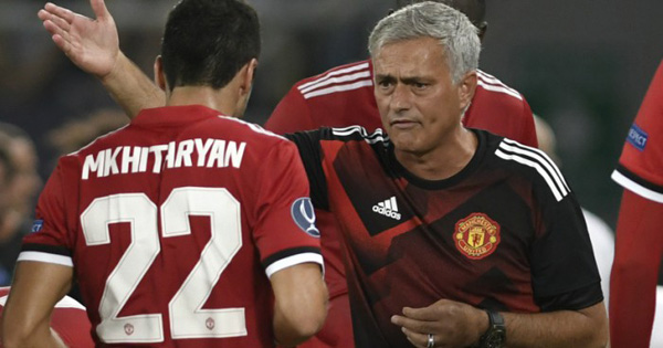 Jose Mourinho hides the truth about Henrikh Mkhitaryan