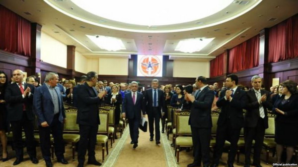 Republican Party Council Holds Session in Tsakhkadzor: Ruling Party to Nominate Serzh Sargsyan For Prime Minister Post