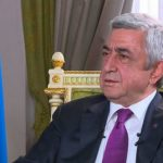 Serzh Sargsyan: 'That is, I should be flattered as I enter a room and see my portrait hanging on the wall? Why should I get pleased with that?'